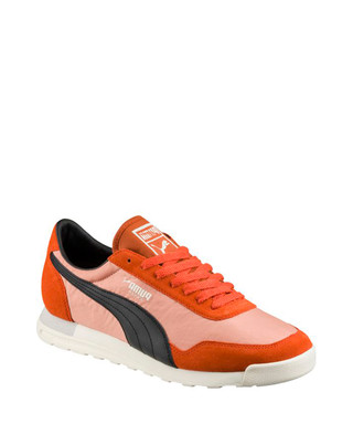 a6386fb36e13 Jogger OG orange   black suede sneakers Sale - PUMA Sale