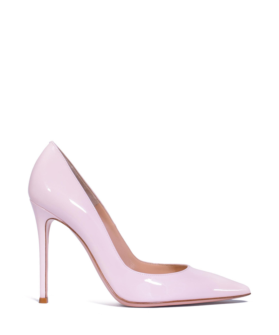 Pink leather high heels Sale - gianvito rossi