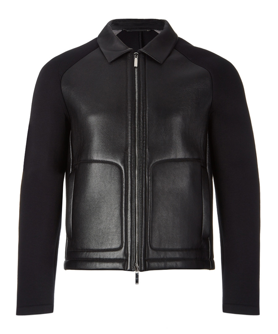 Corvis black leather jacket Sale - Boss By Hugo Boss