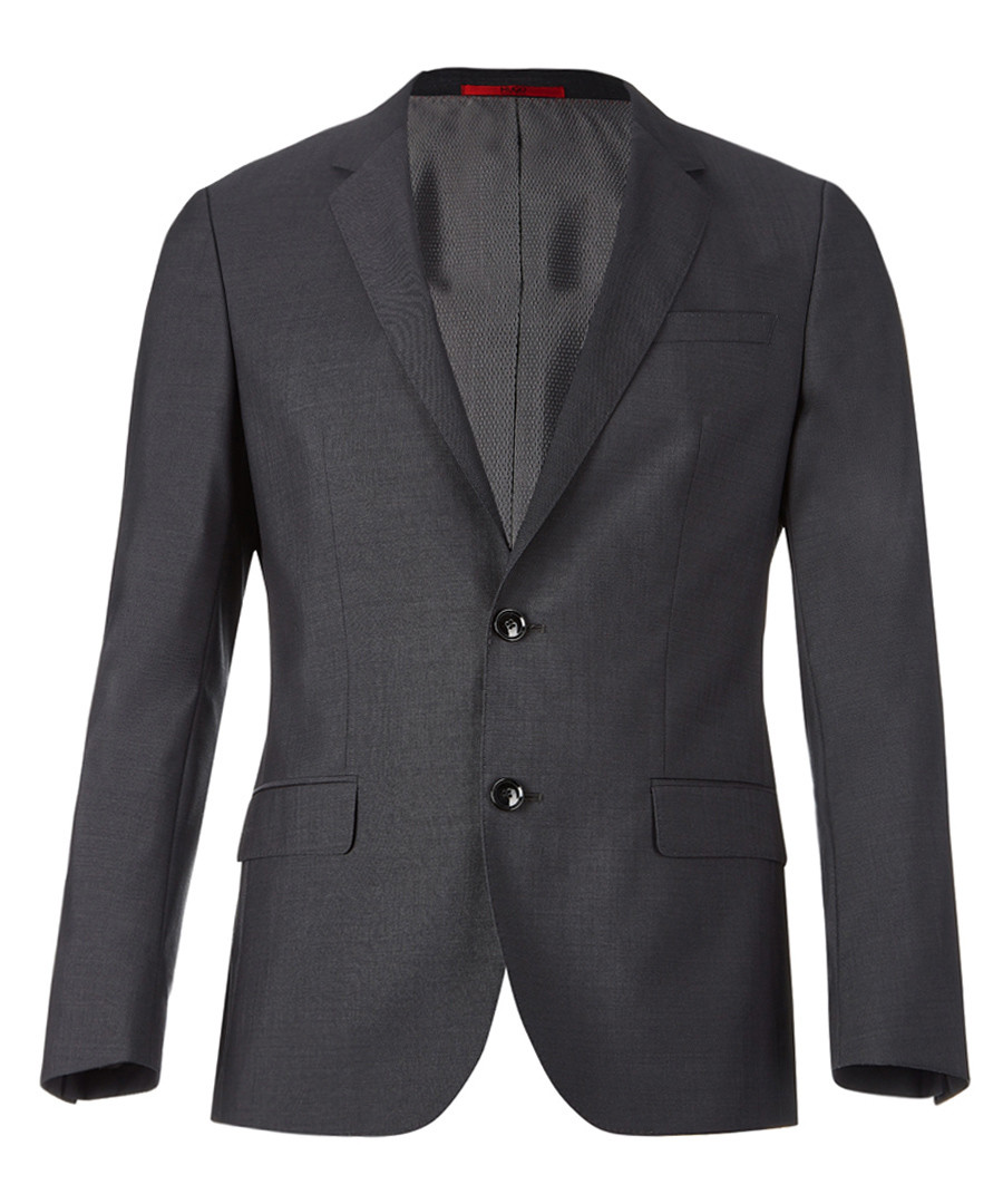 Dark grey virgin wool blazer Sale - Boss By Hugo Boss
