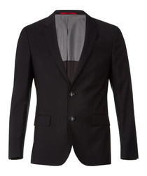 Black virgin wool blazer