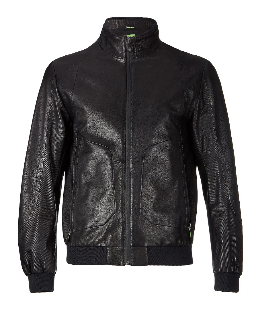 Jesbo black sheepskin jacket Sale - Boss By Hugo Boss