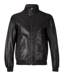 Jesbo black sheepskin jacket