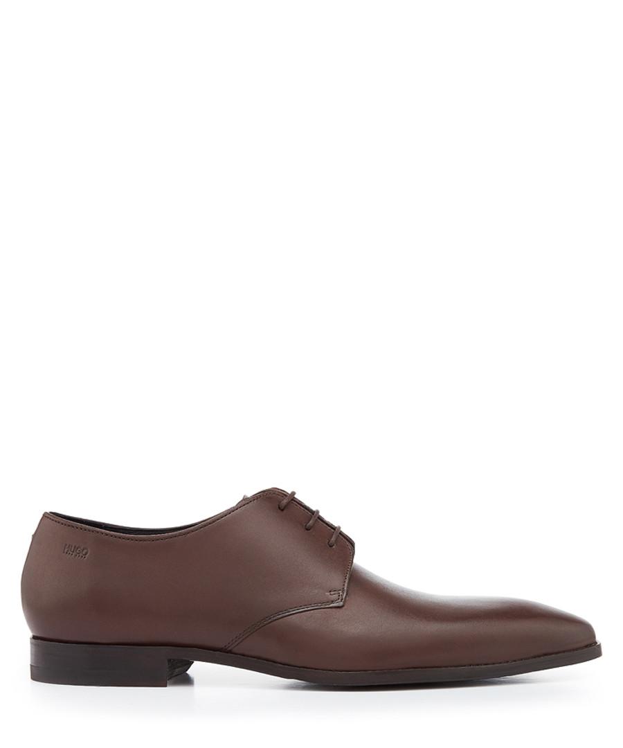 Feroke dark brown lace-up Derbys Sale - hugo boss