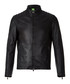Black pure lamb leather zip up coat Sale - Boss By Hugo Boss Sale