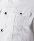 White cotton blend button up jacket Sale - Boss By Hugo Boss Sale