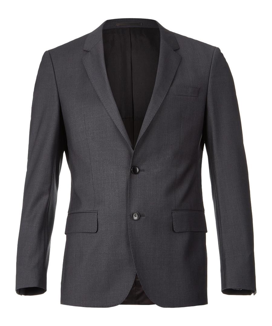 Dark grey wool blend blazer Sale - Boss By Hugo Boss