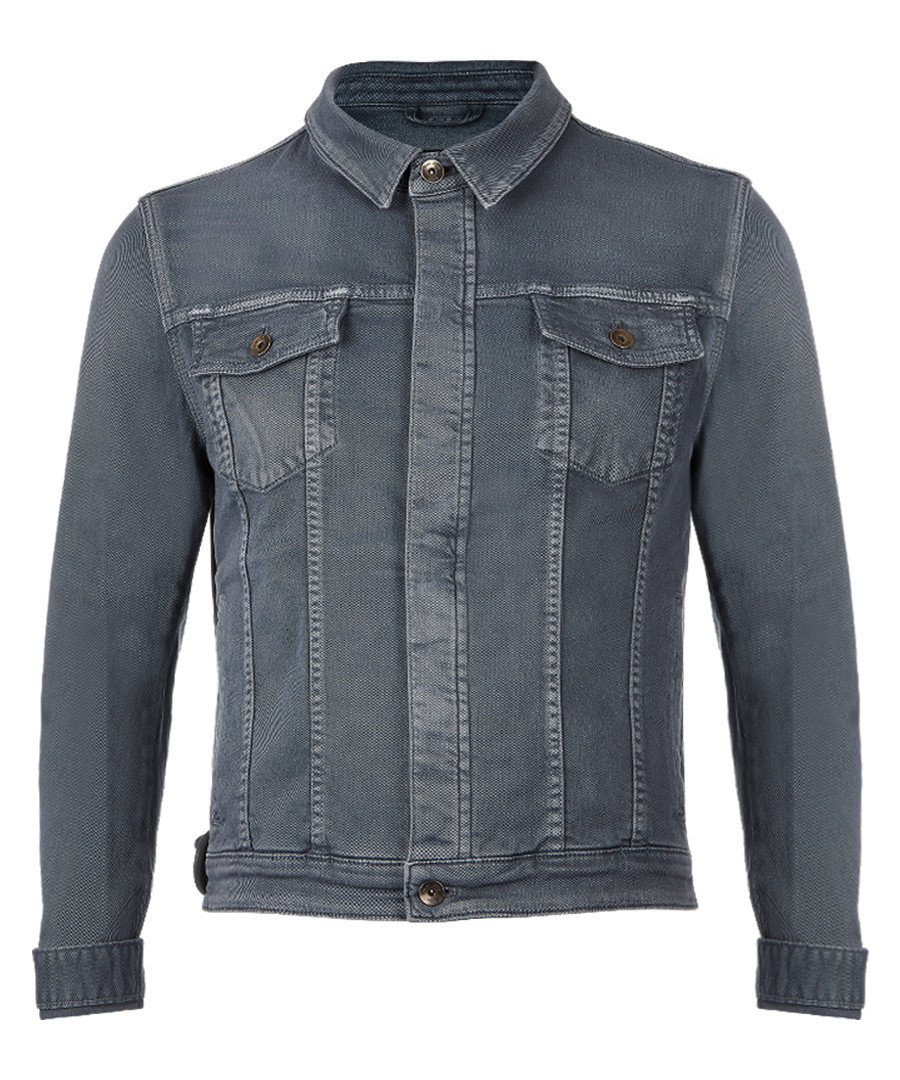 Aqua cotton blend denim jacket Sale - Boss By Hugo Boss
