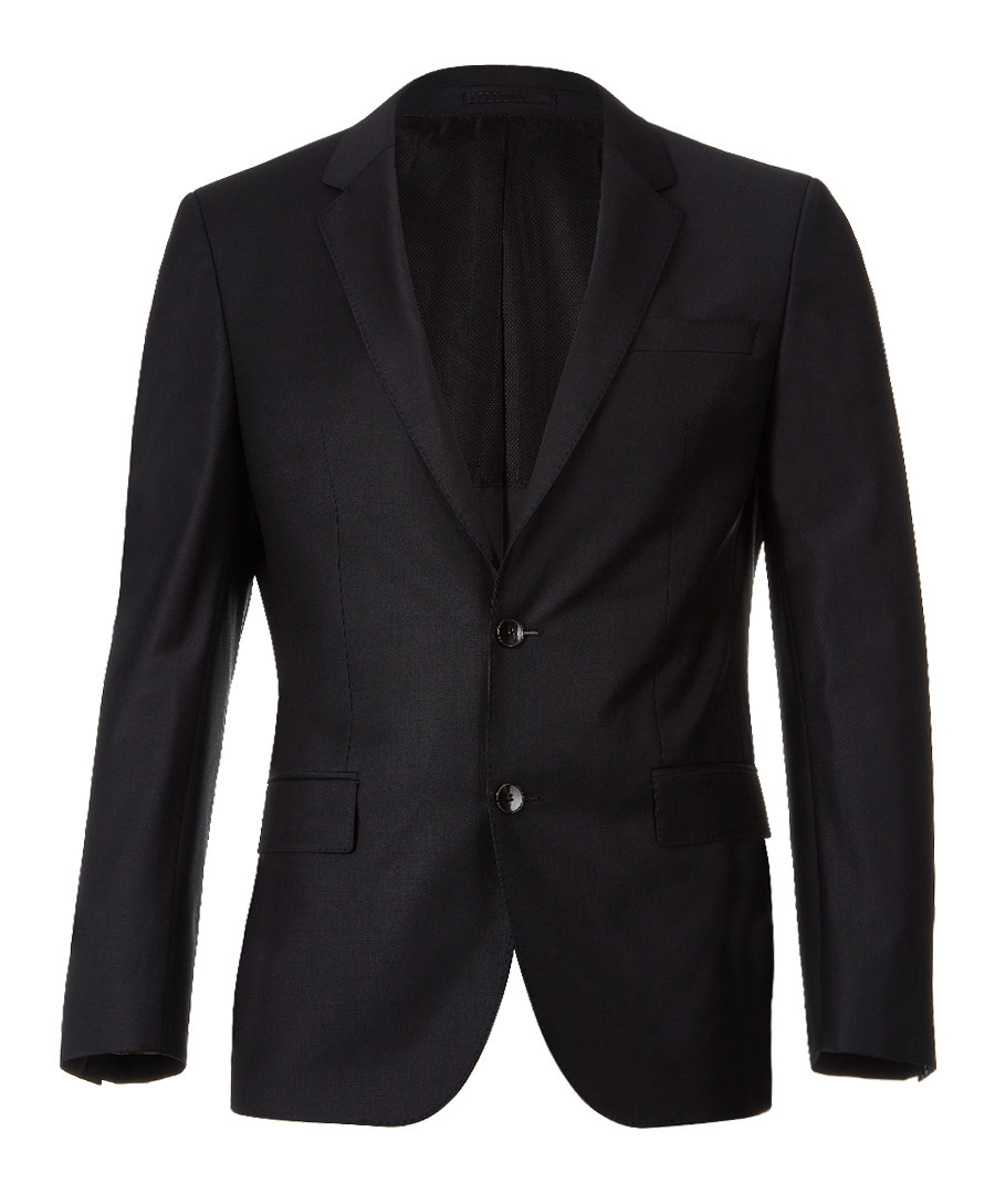 Black wool blend 2 button blazer Sale - Boss By Hugo Boss