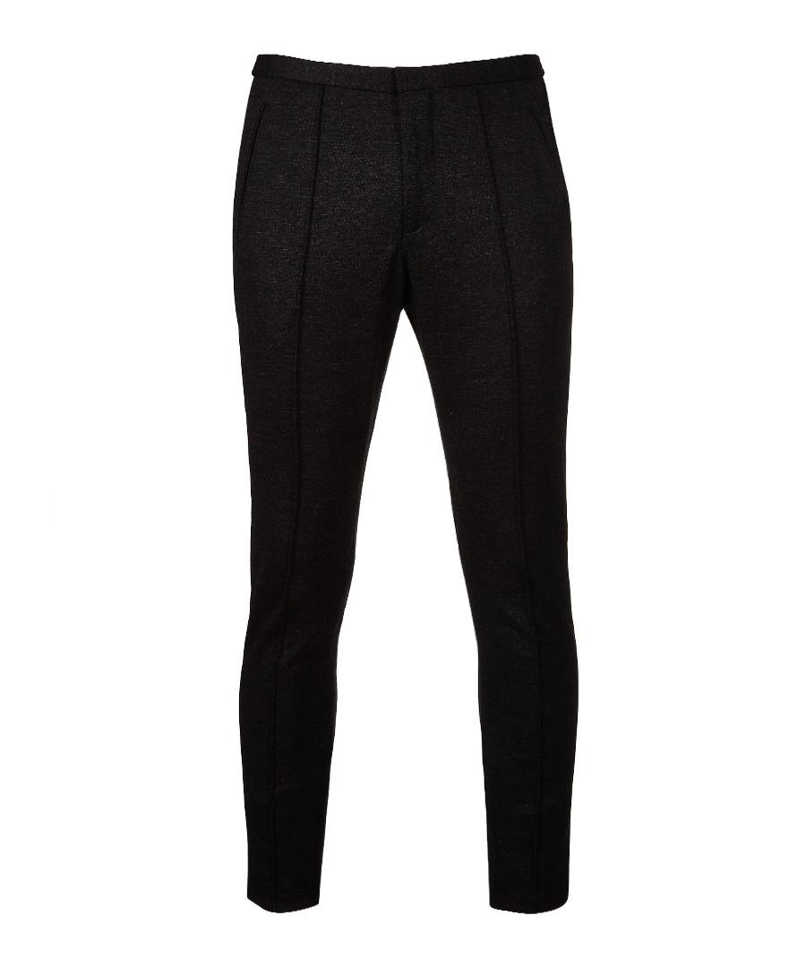 Charcoal wool blend trousers Sale - Boss By Hugo Boss
