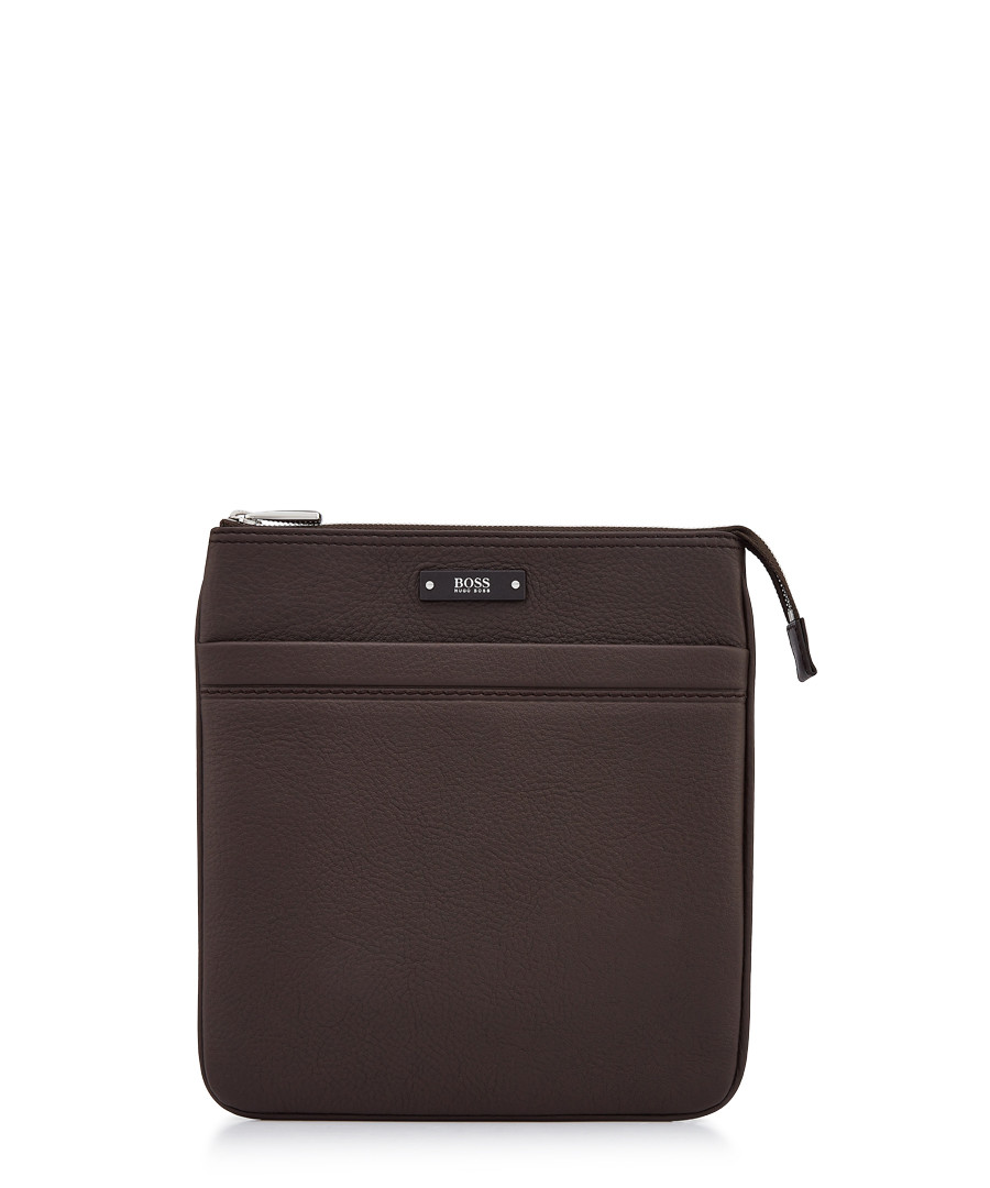 Dark brown leather card holder Sale - Boss By Hugo Boss