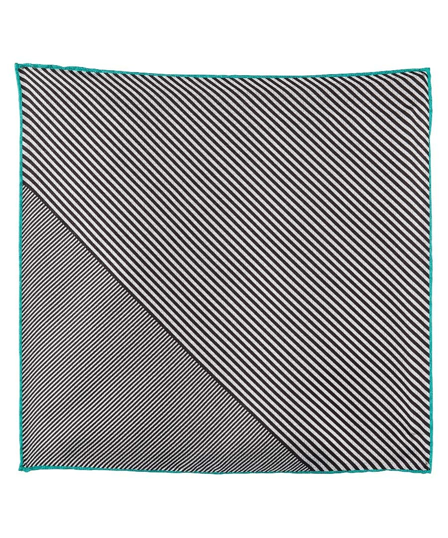 Black & white pure silk handkerchief Sale - Boss By Hugo Boss