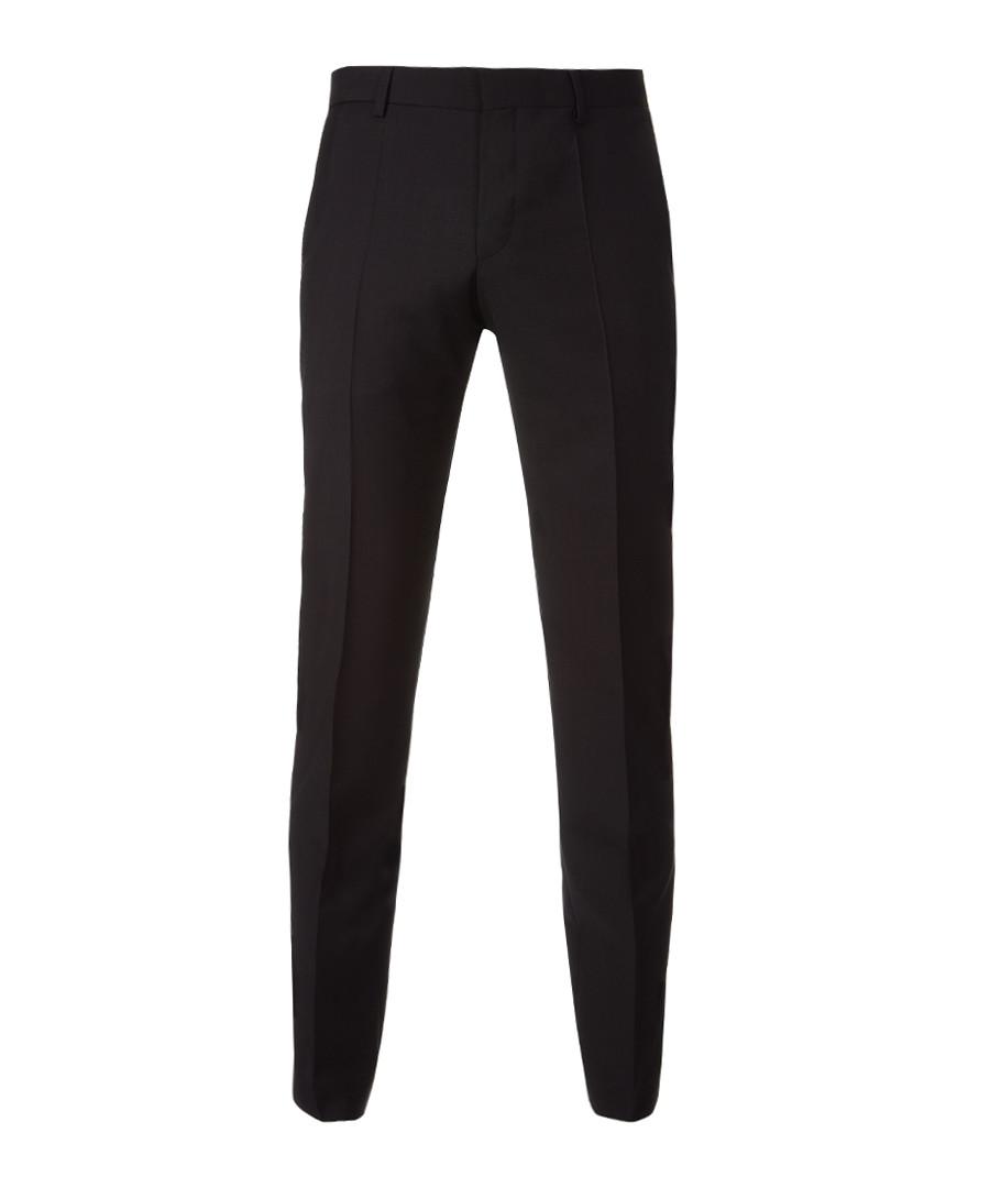 Black pure wool trousers Sale - Boss By Hugo Boss
