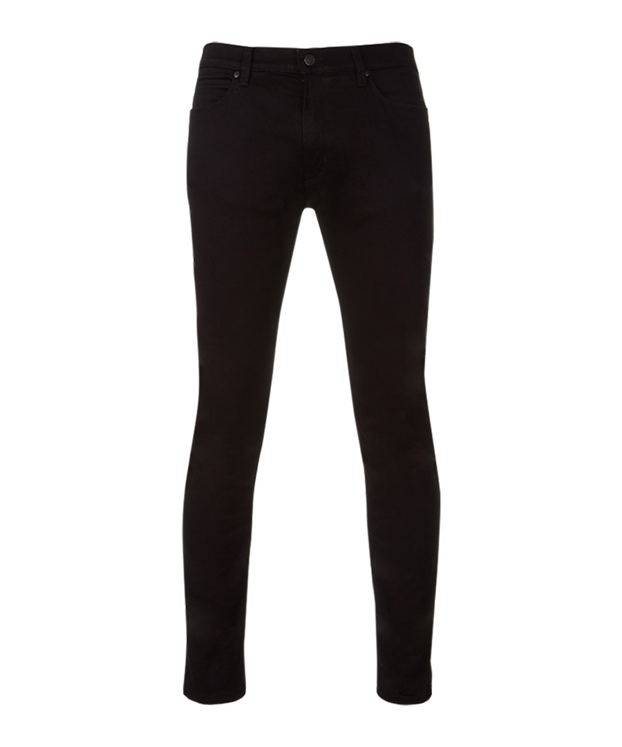 Black cotton blend skinny jeans Sale - Boss By Hugo Boss