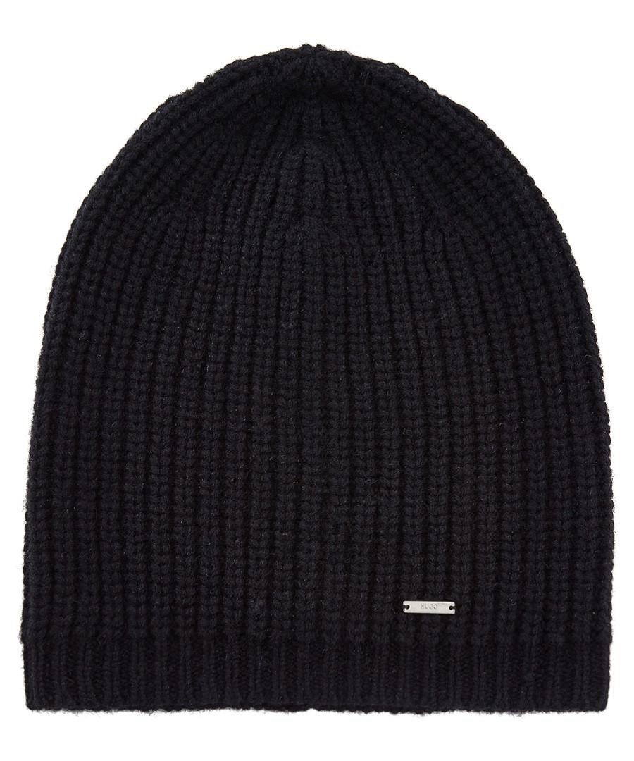 Black pure wool beanie Sale - Boss By Hugo Boss