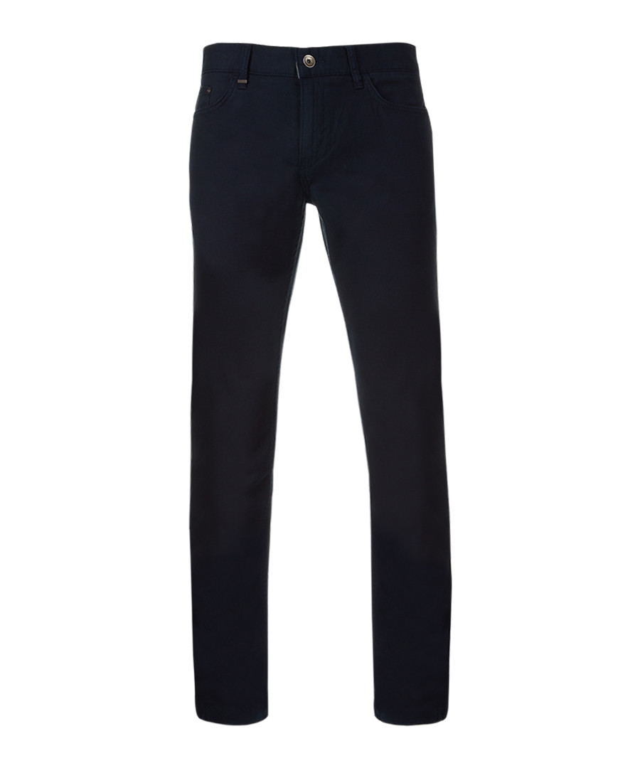 Navy cotton blend jeans Sale - Boss By Hugo Boss