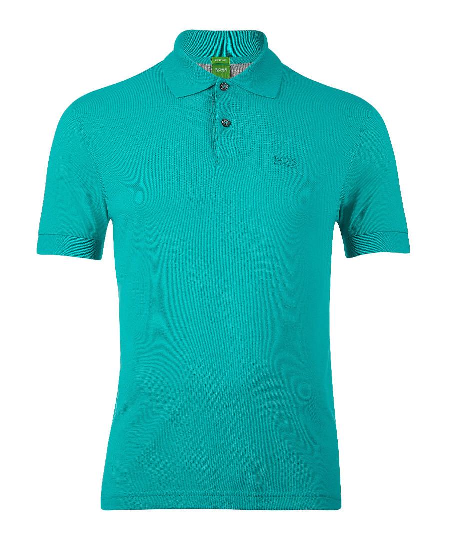 Pastel green pure cotton polo shirt Sale - Boss By Hugo Boss