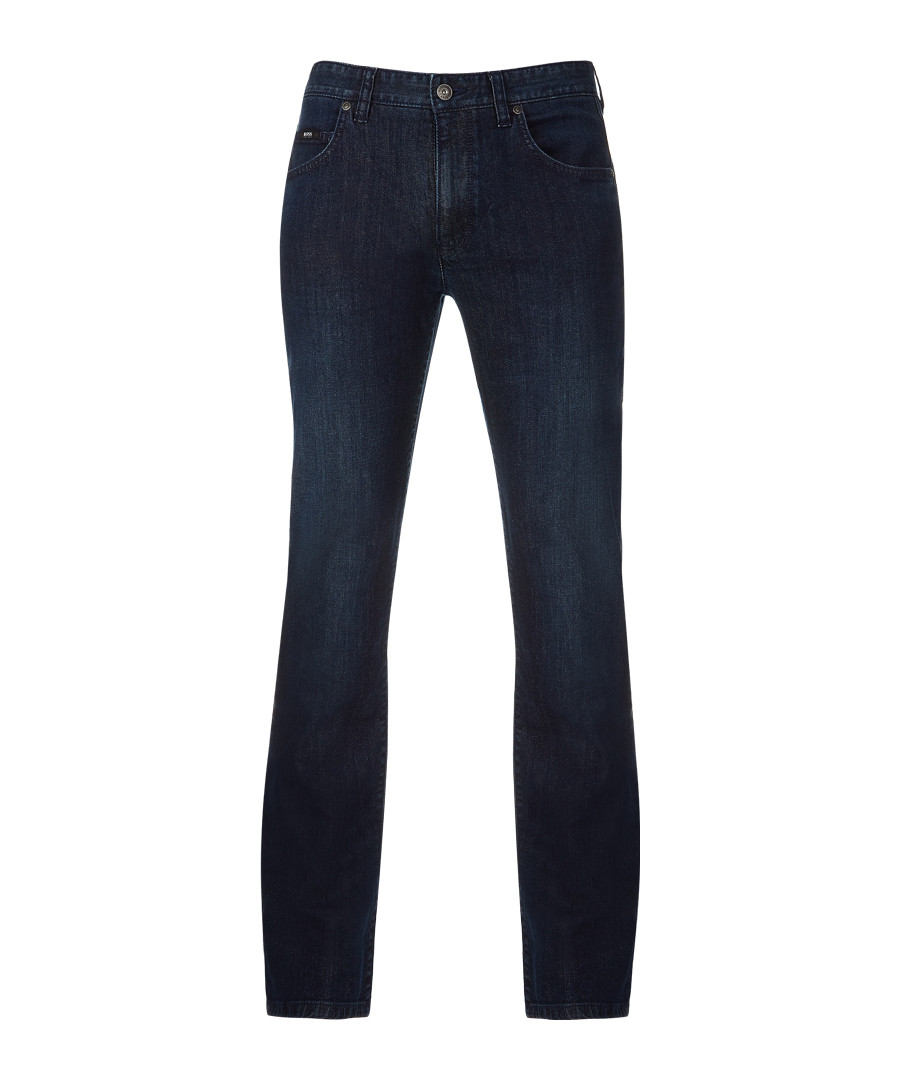 Blue cotton blend jeans Sale - Boss By Hugo Boss