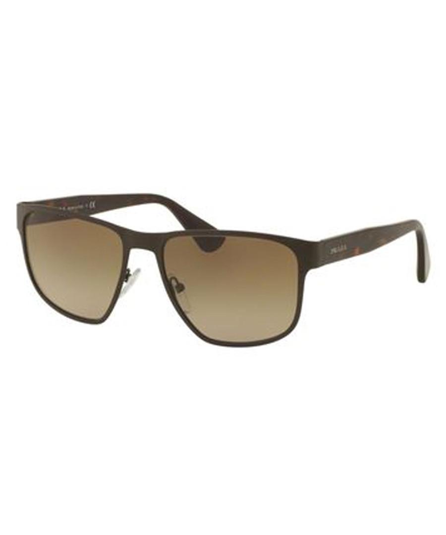 Men's brown sunglasses Sale - prada