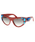 Red & blue crystal goggle sunglasses Sale - prada Sale
