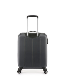 Light grey spinner suitcase 50cm