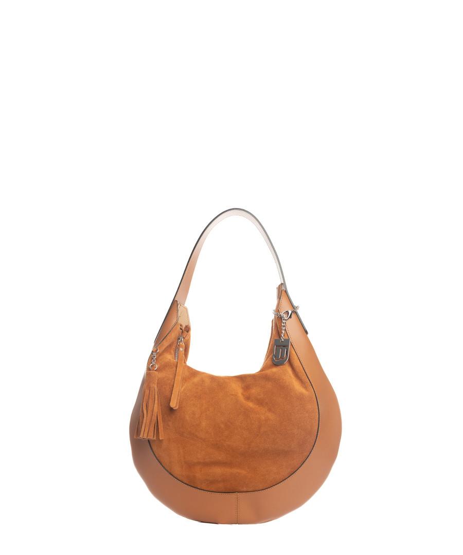 Discount Cognac leather slouch shoulder bag   SECRETSALES 3e76ba5f5c
