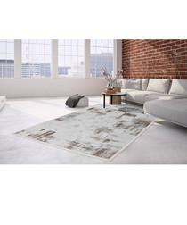 Borneo 100 silver & beige rug 200x290cm