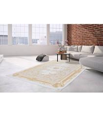 Diyez 100 beige & gold rug 200x290cm