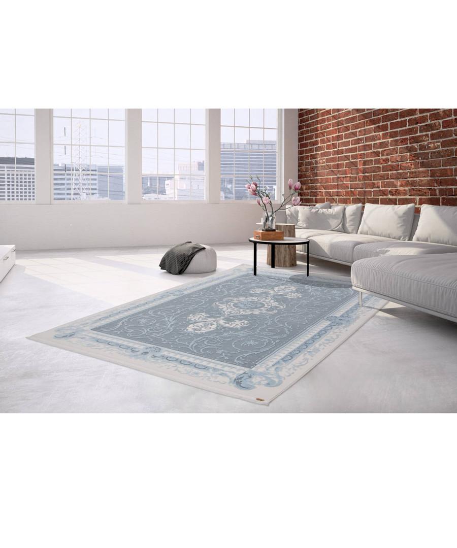 Diyez 100 blue & ivory rug 200x290cm Sale - pierre cardin