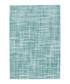 Sateen 200 turquoise rug 200x290cm Sale - pierre cardin Sale