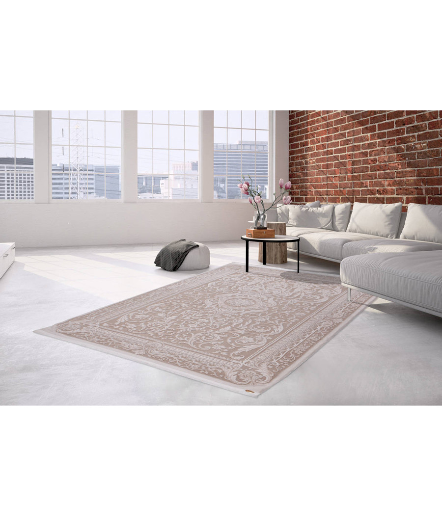 Saloon 100 beige rug 160x230cm Sale - pierre cardin
