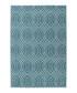 Sateen 100 turquoise rug 160x230cm Sale - pierre cardin Sale