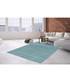 Sateen 300 turquoise rug 160x230cm Sale - pierre cardin Sale