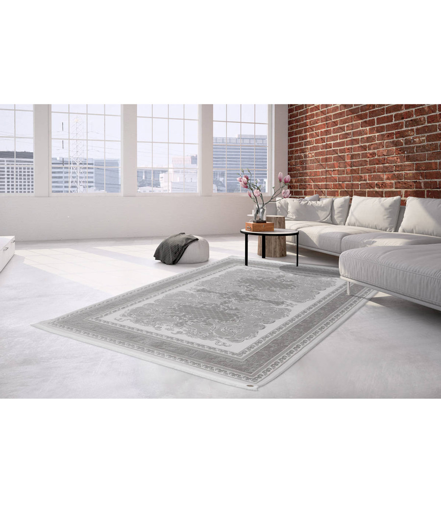 Saloon 300 silver rug 80x300cm Sale - pierre cardin