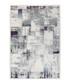 Borneo 100 silver & violet rug 80x150cm  Sale - pierre cardin Sale