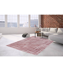 Sateen 200 pink rug 80x300cm
