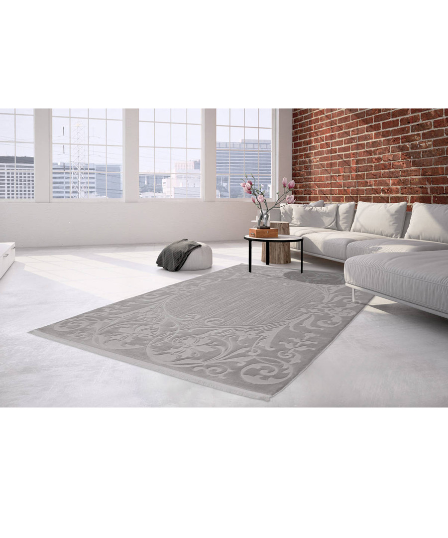 Albero 400 silver rug 80x150cm Sale - pierre cardin