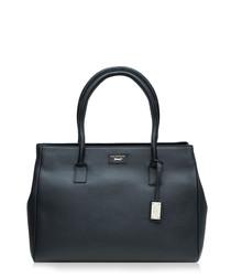 Hadley black leather handbag