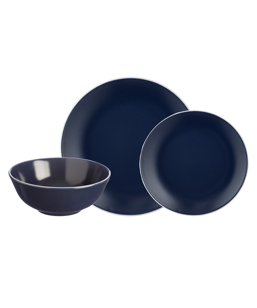 12pc blue dinner set Sale - mason cash
