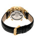 Edmond black & gold-tone leather watch Sale - heritor automatic Sale