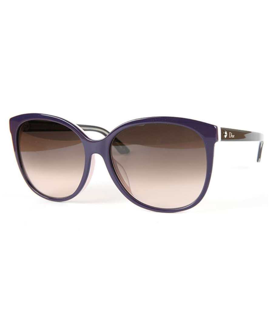 b9def3f6c128 Purple   brown round sunglasses Sale - DIOR