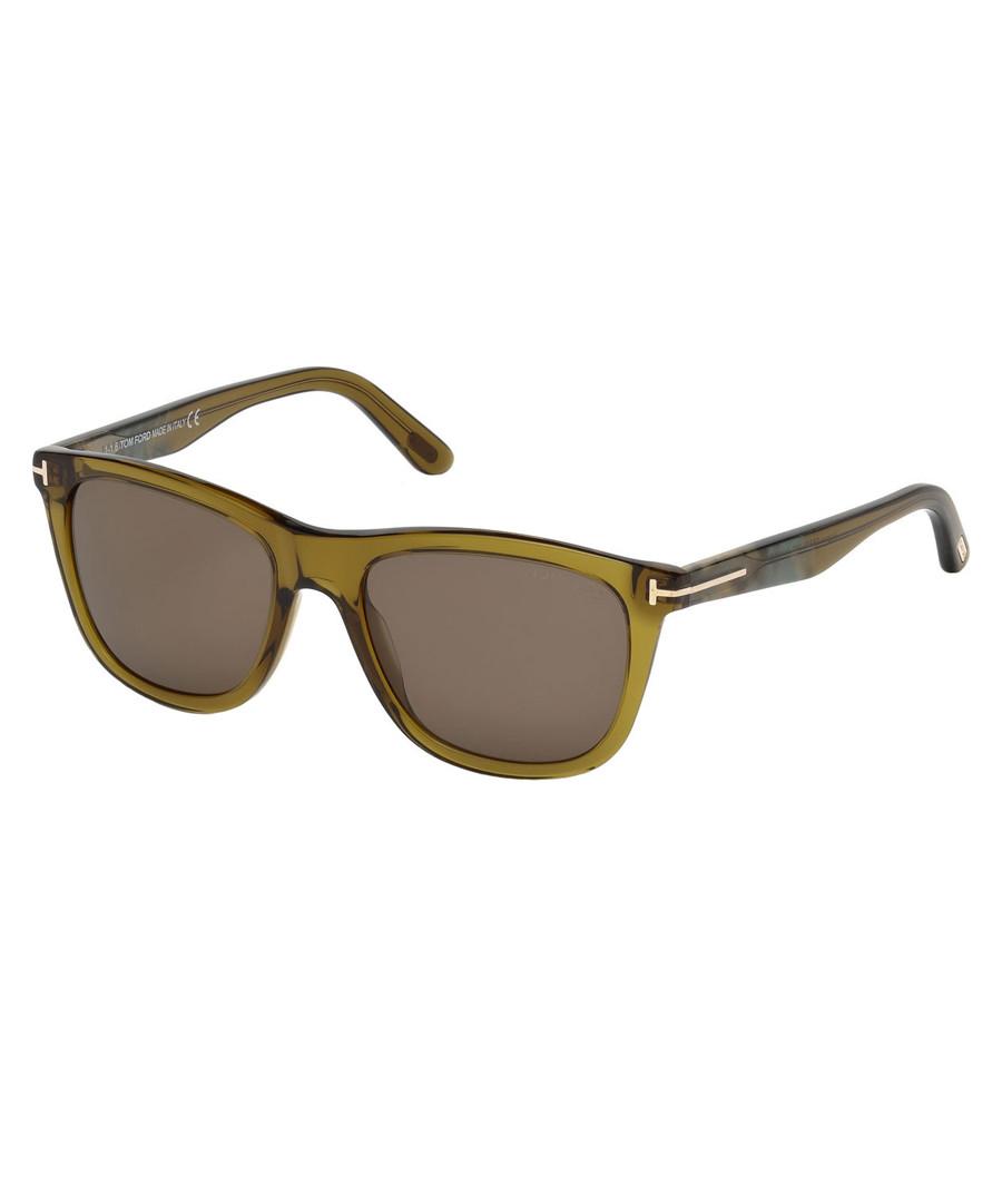 Grey & Khaki wayfarer sunglasses Sale - tom ford