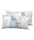 2pc blue pure cotton cushion Sale - Derhy Sale