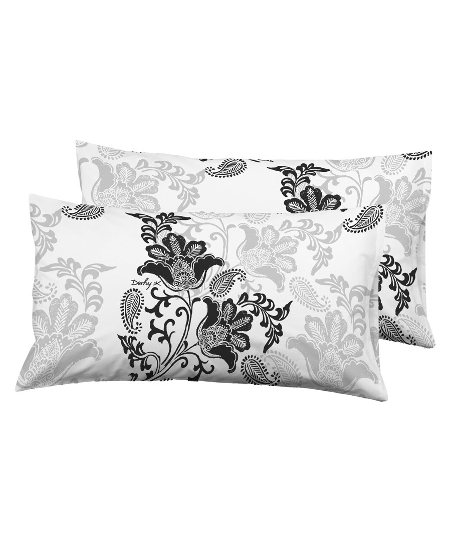 2pc black pure cotton cushion Sale - Derhy