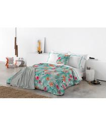 Multi-colour pure cotton s.duvet cover