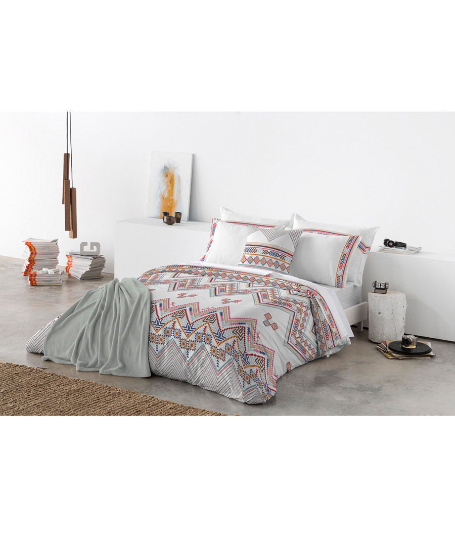 Pink pure cotton double duvet cover Sale - Derhy