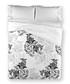 Black pure cotton s.king duvet cover Sale - Derhy Sale