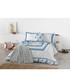 Blue pure cotton s.king duvet cover Sale - Derhy Sale
