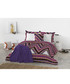 Purple pure cotton s.king duvet cover Sale - Derhy Sale