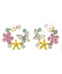 Garden Therapy 14ct gold-plated earrings Sale - fleur envy Sale